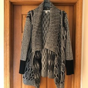 Max Studio Waterfall Cardigan